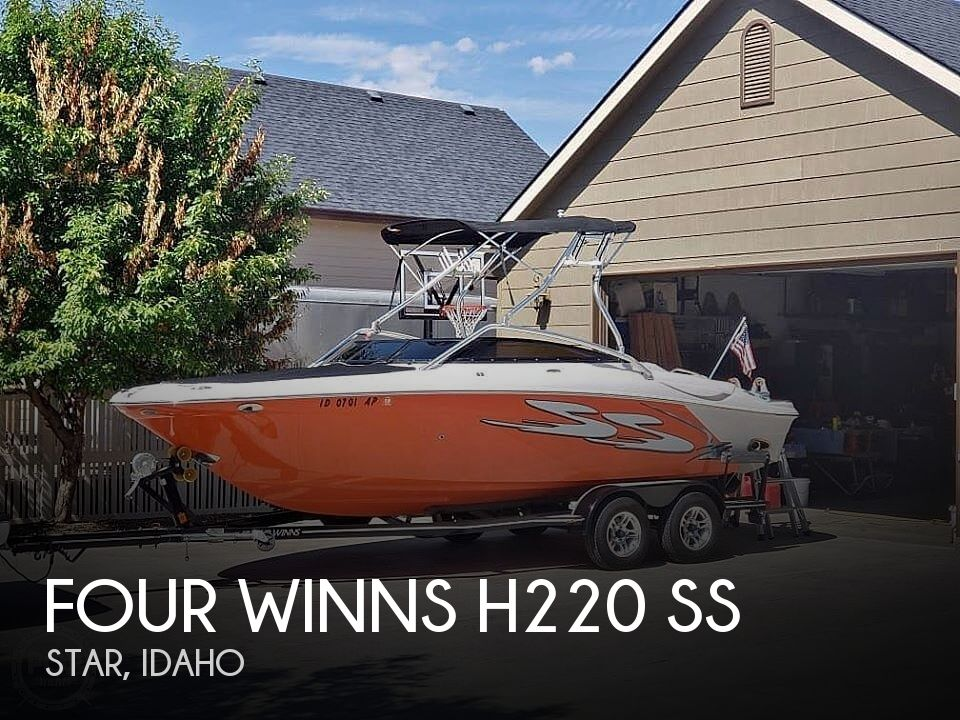 Used Boats For Sale in Boise, Idaho by owner | 2008 Four Winns H220 SS