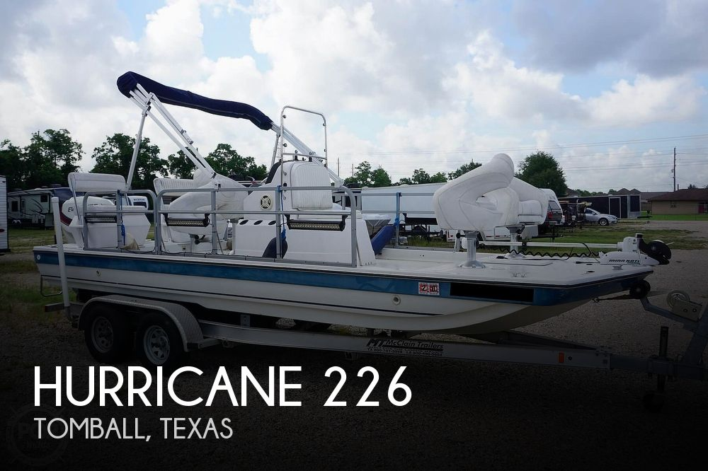 1994 HURRICANE FUNDECK 226 for sale