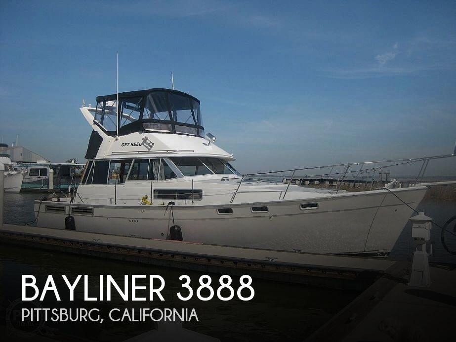 Sold Bayliner 3888 Boat In Pittsburg Ca 212105