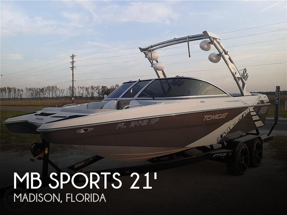 Used MB Sports Boats For Sale by owner | 2013 MB Sports F21 Tomcat
