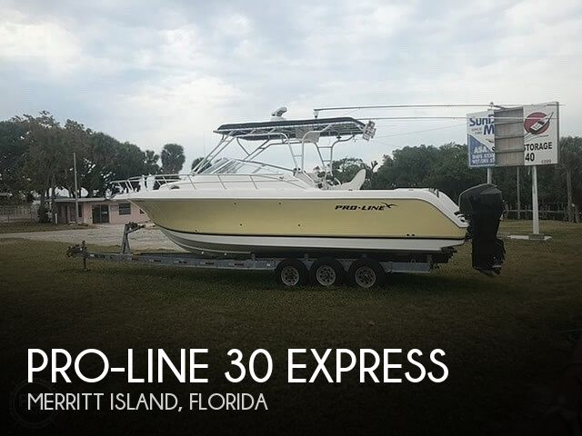 Used Pro-Line Boats For Sale by owner | 2004 Pro-Line 30 Express