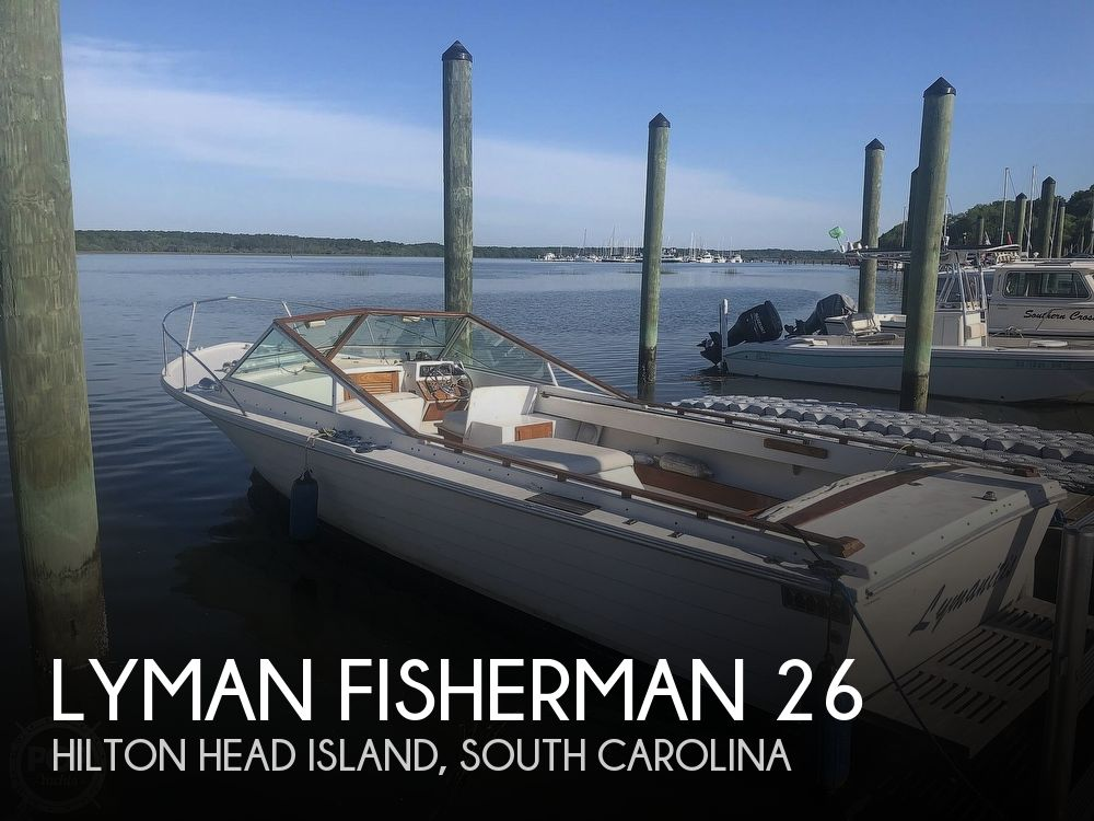 Used Lyman Boats For Sale by owner | 1978 Lyman Fisherman 26