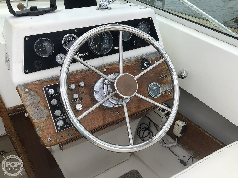 1978 Lyman boat for sale, model of the boat is Fisherman 26 & Image # 34 of 40