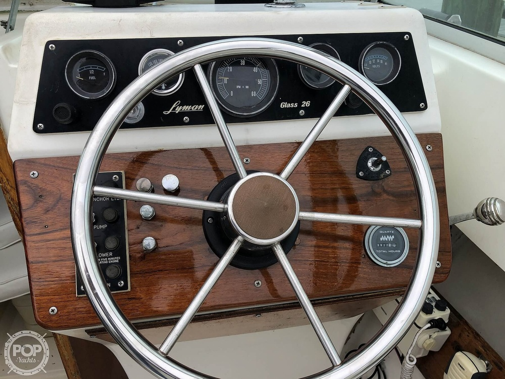 1978 Lyman boat for sale, model of the boat is Fisherman 26 & Image # 15 of 40
