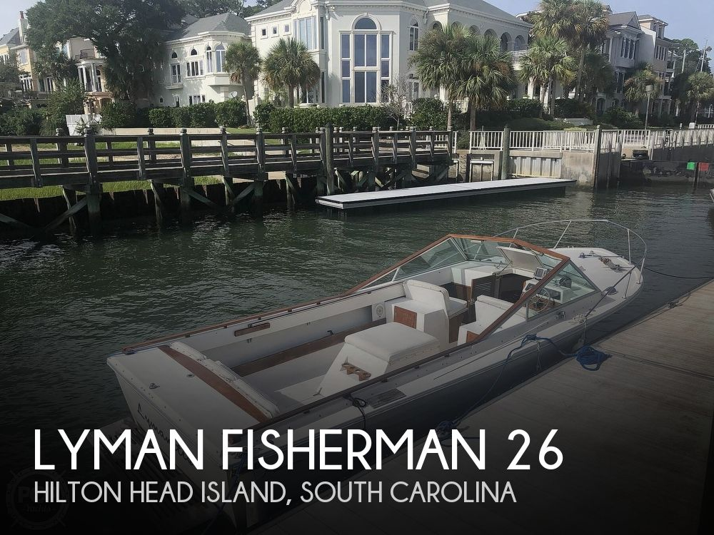 1978 LYMAN FISHERMAN 26 for sale