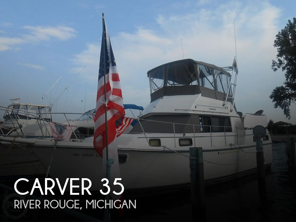 Used Carver 35 Boats For Sale by owner | 1984 Carver 35