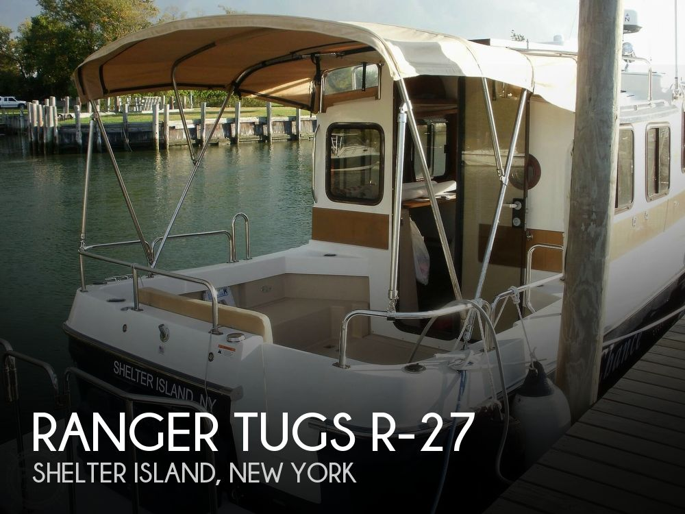 Used Boats For Sale in Hartford, Connecticut by owner | 2012 Ranger Tugs 27