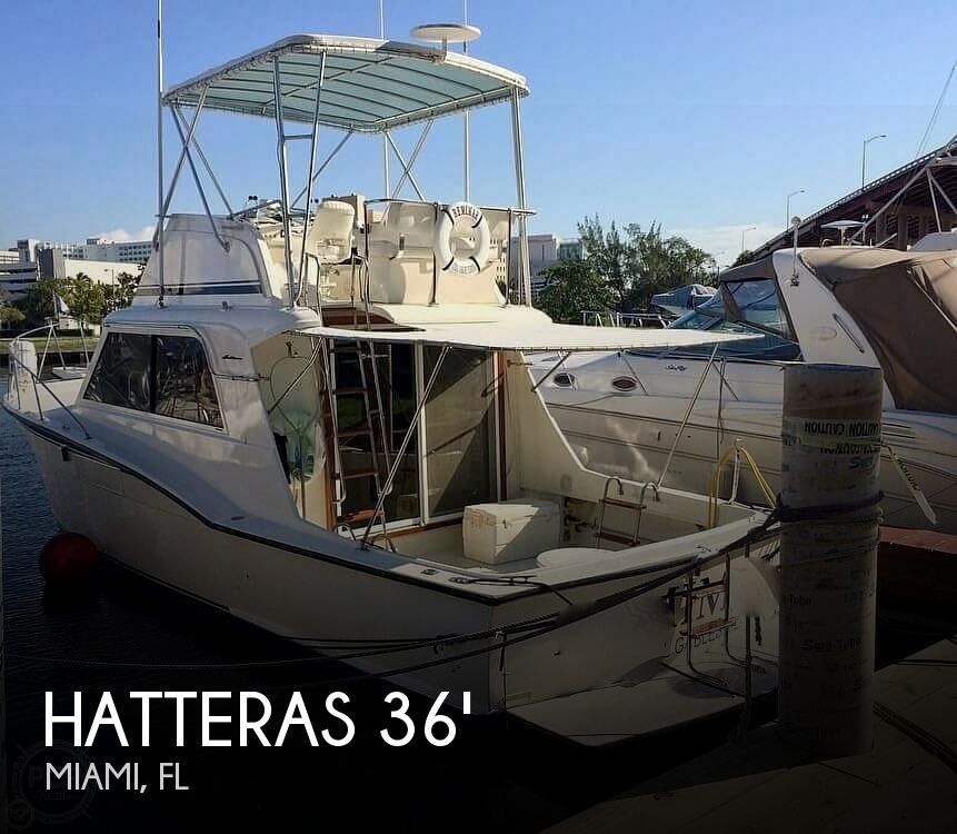 1972 Hatteras boat for sale, model of the boat is 360 Convertible & Image # 1 of 40