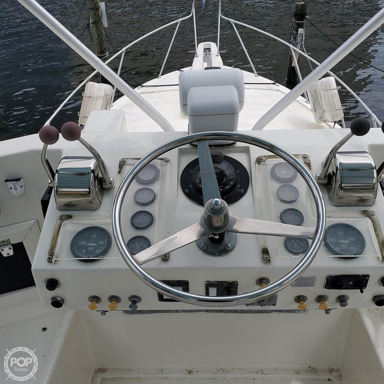 1972 Hatteras boat for sale, model of the boat is 360 Convertible & Image # 5 of 40