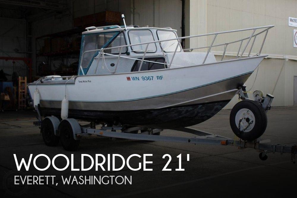 Used Wooldridge Boats For Sale by owner | 1997 Wooldridge 21' Deep Water Plus