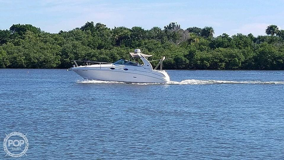 2004 Sea Ray boat for sale, model of the boat is 280 Sundancer & Image # 25 of 40