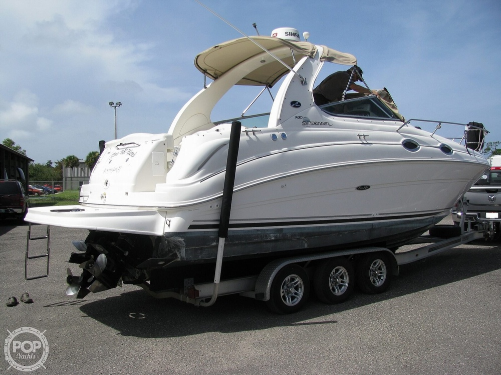 2004 Sea Ray boat for sale, model of the boat is 280 Sundancer & Image # 3 of 40