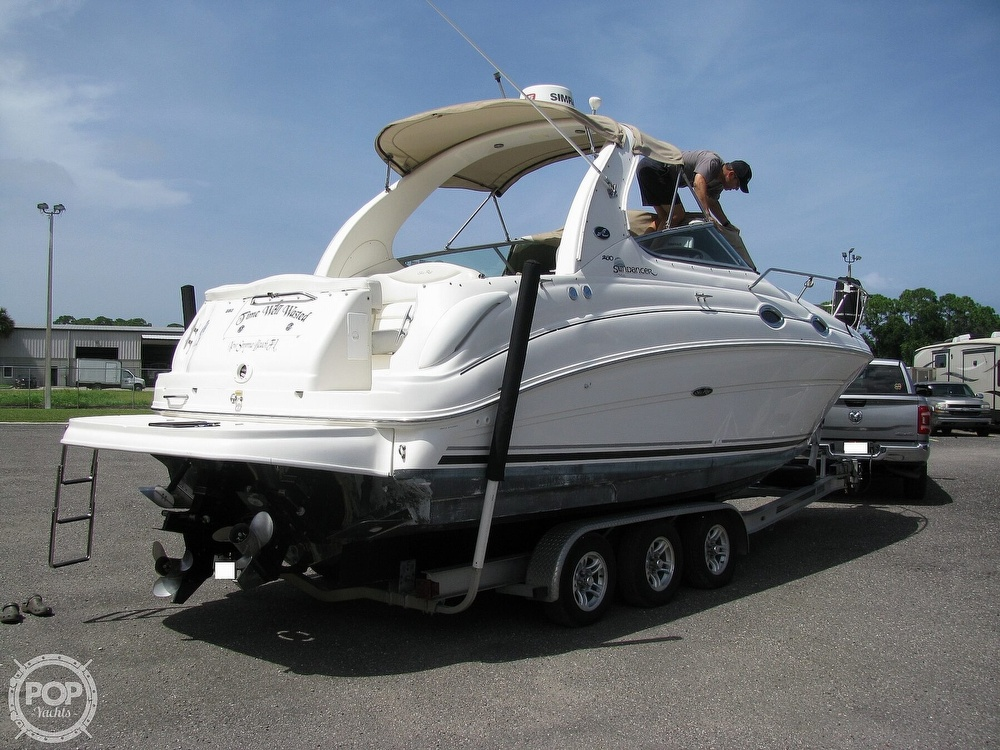 2004 Sea Ray boat for sale, model of the boat is 280 Sundancer & Image # 4 of 40