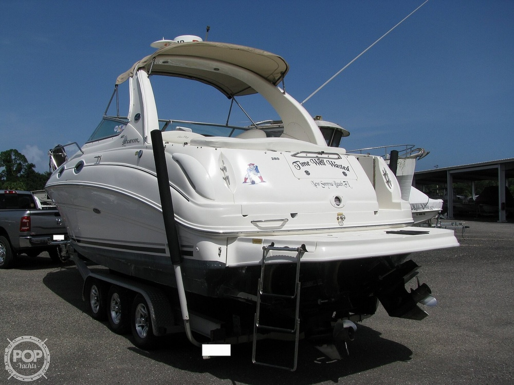 2004 Sea Ray boat for sale, model of the boat is 280 Sundancer & Image # 8 of 40