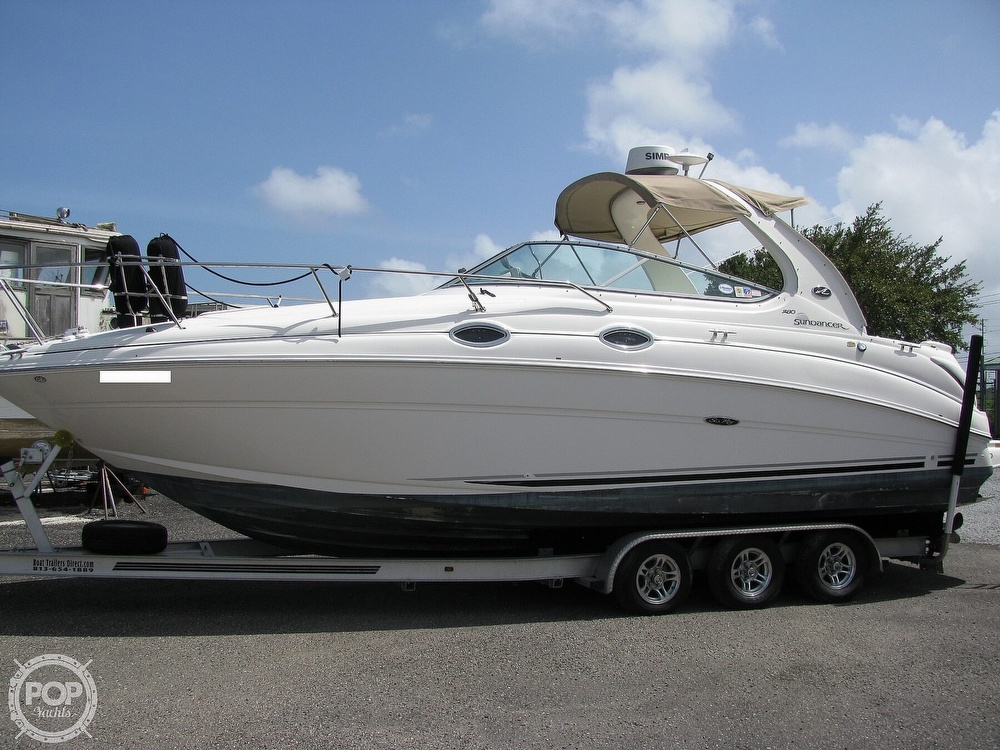 2004 Sea Ray boat for sale, model of the boat is 280 Sundancer & Image # 12 of 40