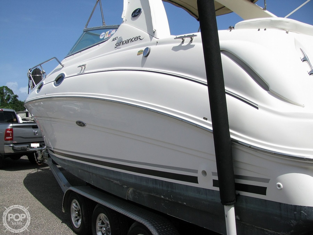 2004 Sea Ray boat for sale, model of the boat is 280 Sundancer & Image # 19 of 40
