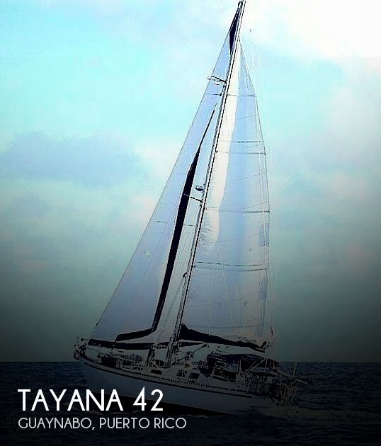 1981 Tayana boat for sale, model of the boat is Vancouver Bluewater 42 & Image # 1 of 17