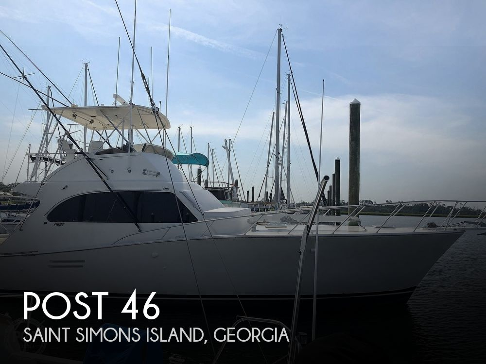 1990 Post Marine boat for sale, model of the boat is 46 & Image # 1 of 40
