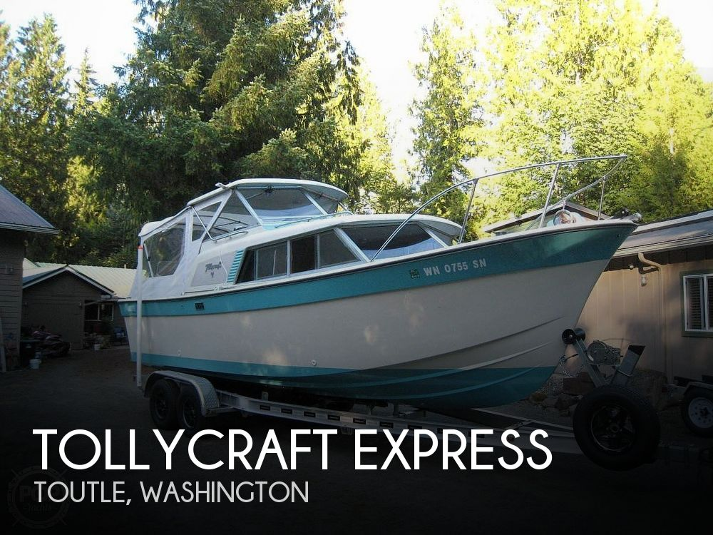 Used Tollycraft Boats For Sale in Washington by owner | 1967 23 foot Tollycraft Express