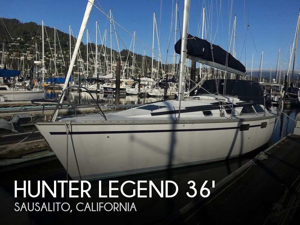 Used Hunter Sailboats For Sale in California by owner | 1993 Hunter Legend 36'