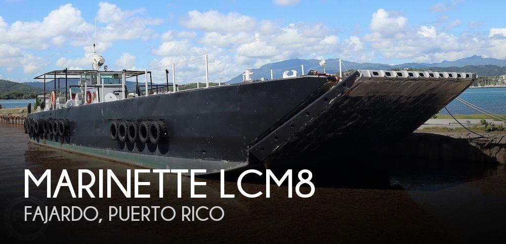 1968 MARINETTE LANDING CRAFT LCM8 for sale