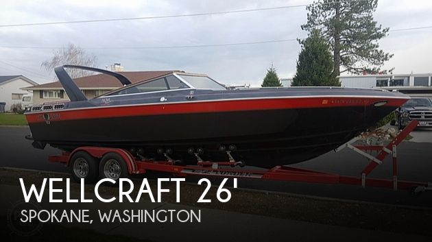 Used Wellcraft Boats For Sale in Washington by owner | 1987 26 foot Wellcraft Nova Spyder
