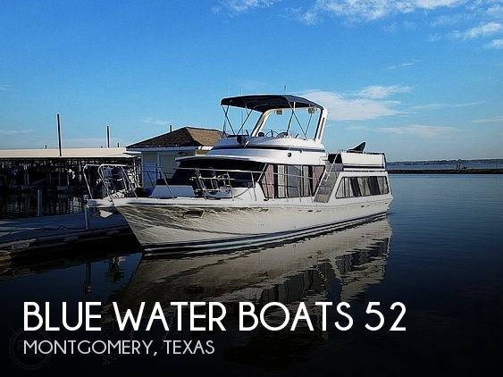 Used Motoryachts For Sale in Texas by owner   1985 Blue Water Boats 52