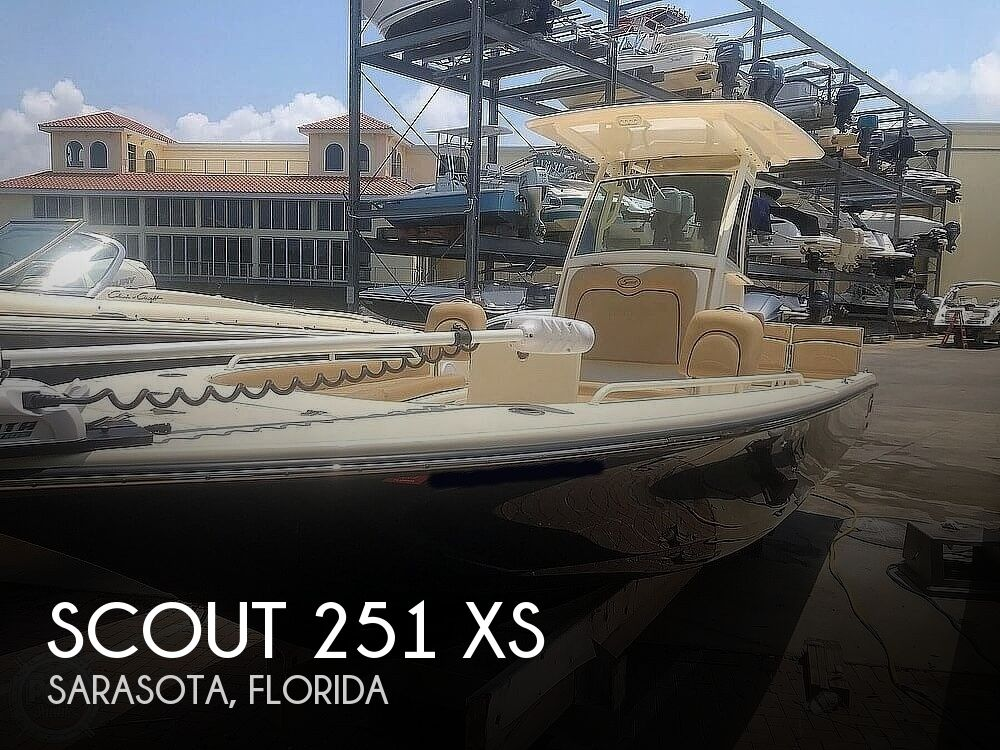 2016 Scout boat for sale, model of the boat is 251 XS & Image # 1 of 40