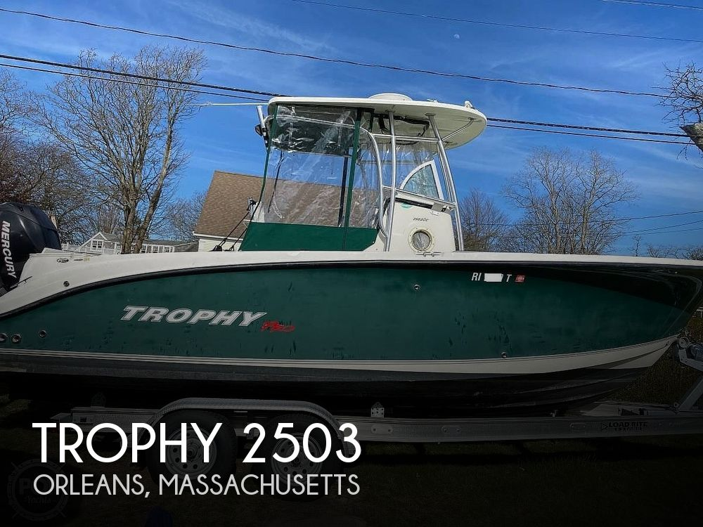 Used Trophy Boats For Sale by owner | 2005 Trophy 2503
