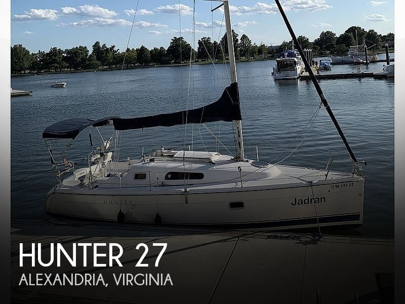 Used Hunter Sailboats For Sale in Virginia by owner | 2005 Hunter 27