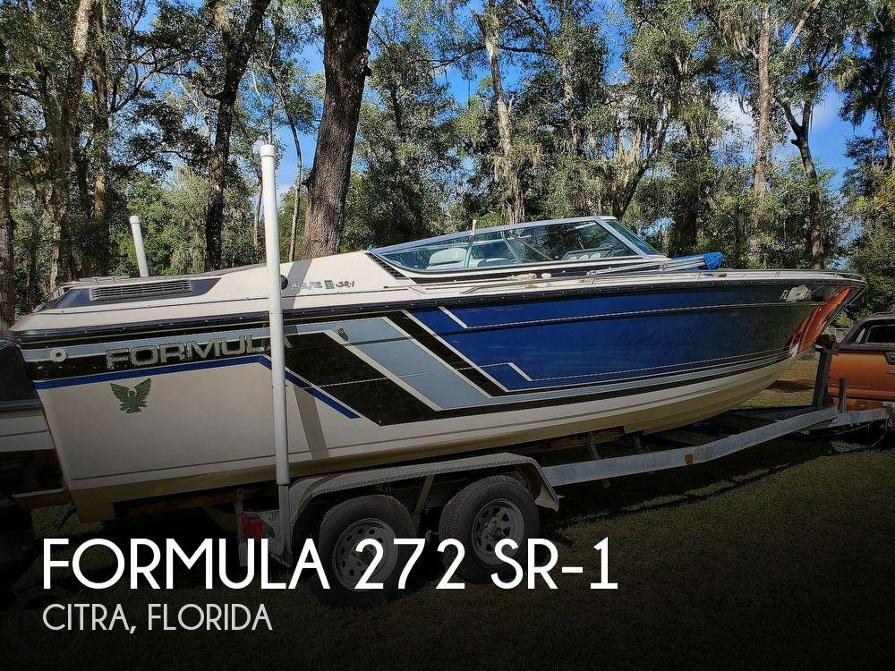 1986 Formula boat for sale, model of the boat is 272 SR-1 & Image # 1 of 40