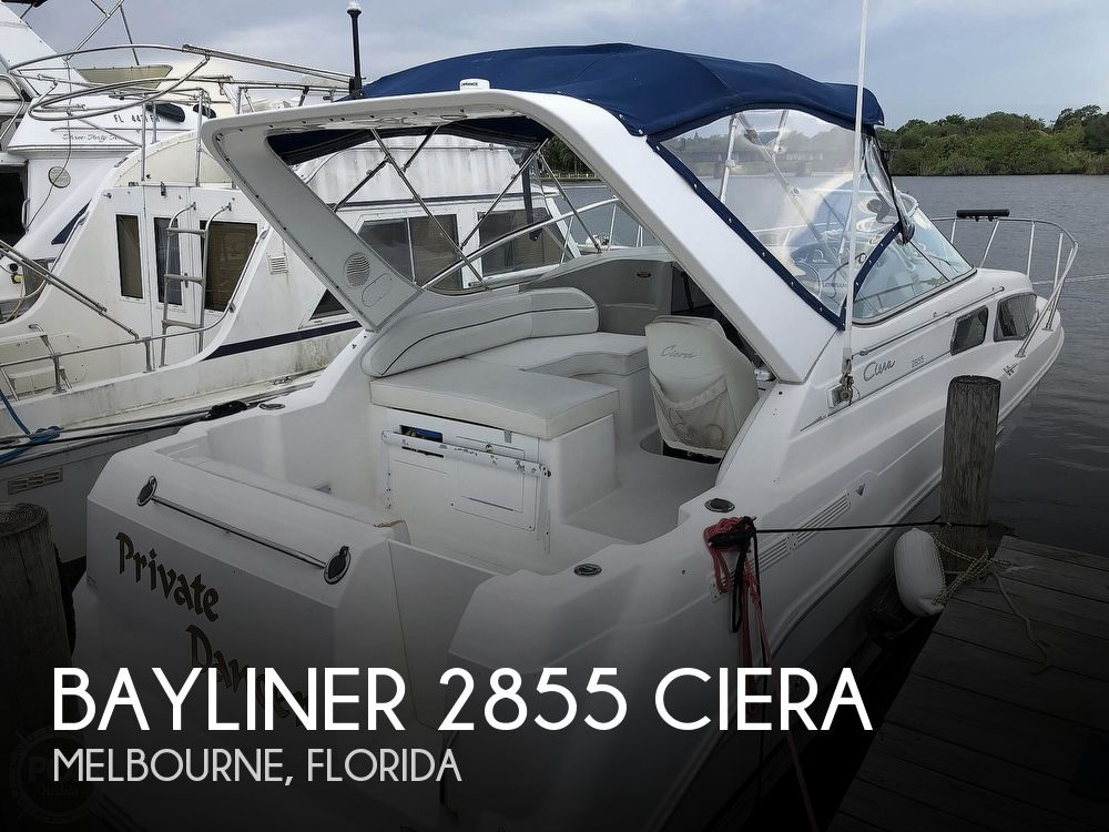 2000 BAYLINER 2855 CIERA for sale