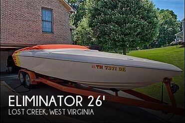 Used Boats For Sale in West Virginia by owner | 2002 Eliminator Eagle XP 260