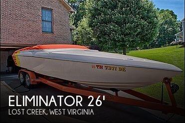 Used ELIMINATOR Boats For Sale by owner | 2002 Eliminator Eagle XP 260
