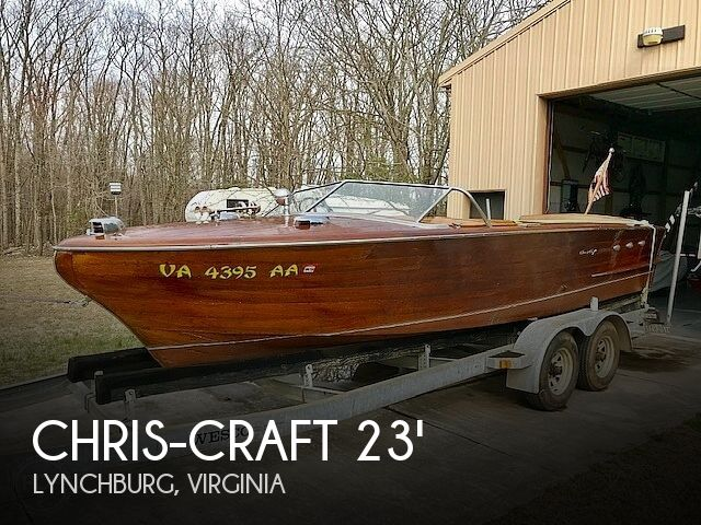 Used Boats For Sale in Lynchburg, Virginia by owner   1956 Chris-Craft 23