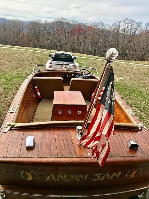 1956 Chris Craft boat for sale, model of the boat is Continental & Image # 8 of 40