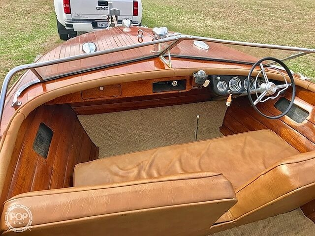 1956 Chris Craft boat for sale, model of the boat is Continental & Image # 11 of 40