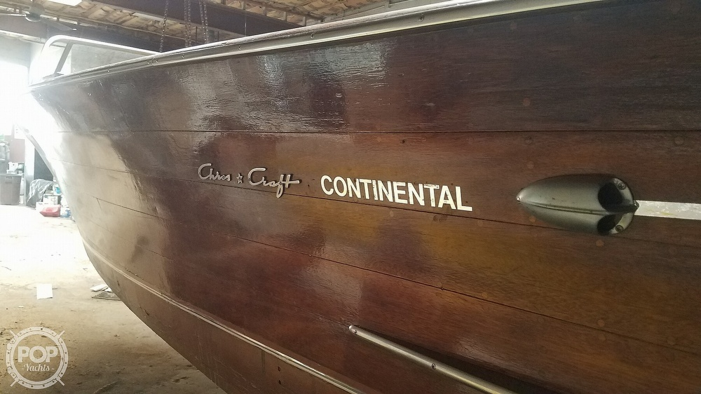 1956 Chris Craft boat for sale, model of the boat is Continental & Image # 40 of 40