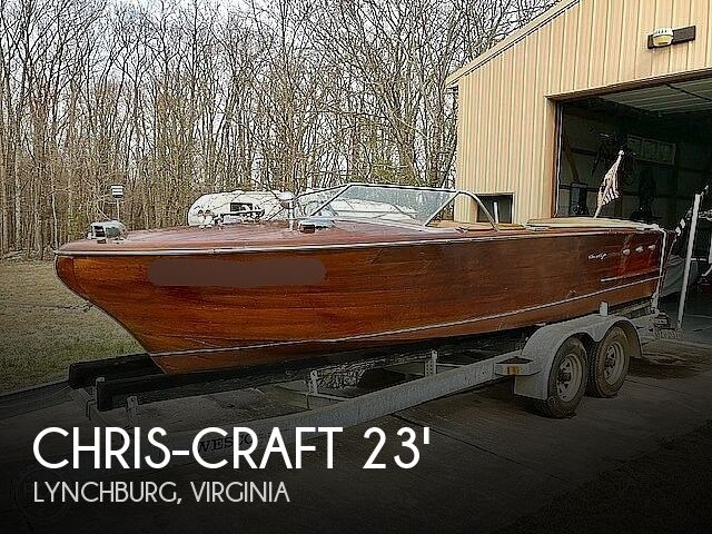 1956 Chris Craft boat for sale, model of the boat is Continental & Image # 1 of 40