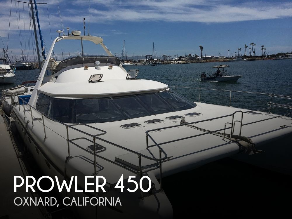 2002 Prowler boat for sale, model of the boat is 450 & Image # 1 of 40