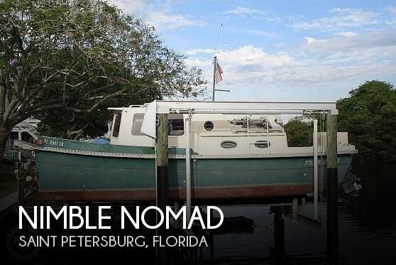 Used Nimble Boats For Sale by owner | 1991 25 foot Nimble Nomad