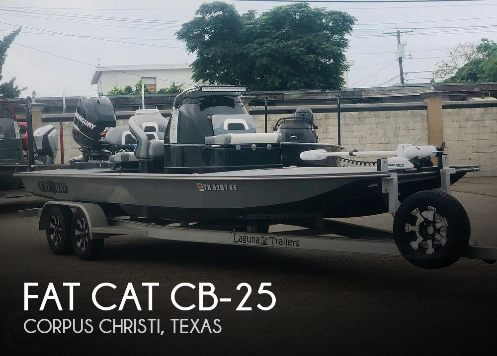 Used Boats For Sale in Corpus Christi, Texas by owner | 2016 Fat Cat CB-25