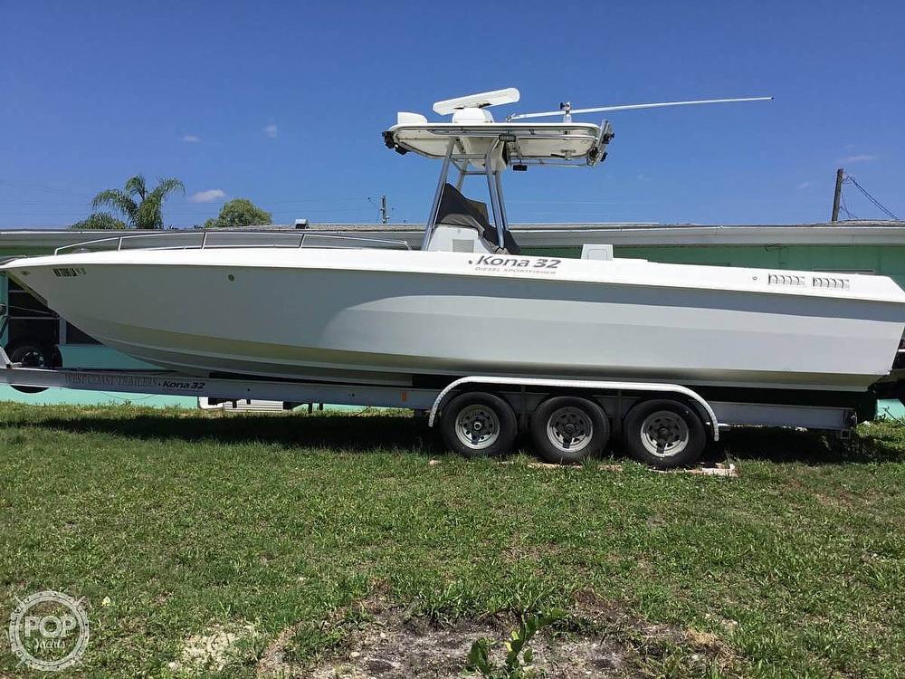 2004 Scarab boat for sale, model of the boat is 32 KONA DIESEL SPORT FISHER & Image # 4 of 40