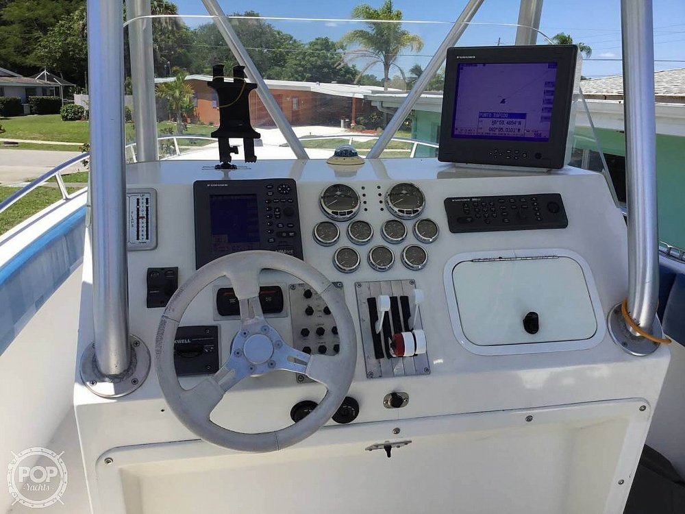 2004 Scarab boat for sale, model of the boat is 32 KONA DIESEL SPORT FISHER & Image # 8 of 40