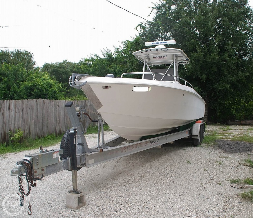 2004 Scarab boat for sale, model of the boat is 32 KONA DIESEL SPORT FISHER & Image # 22 of 40