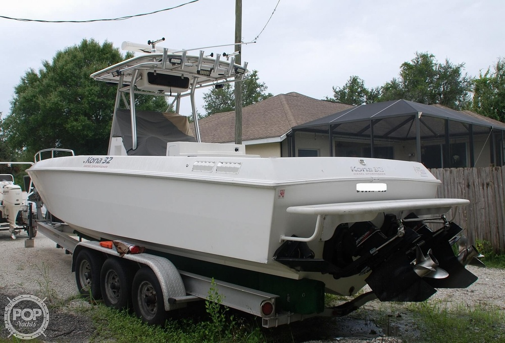 2004 Scarab boat for sale, model of the boat is 32 KONA DIESEL SPORT FISHER & Image # 23 of 40