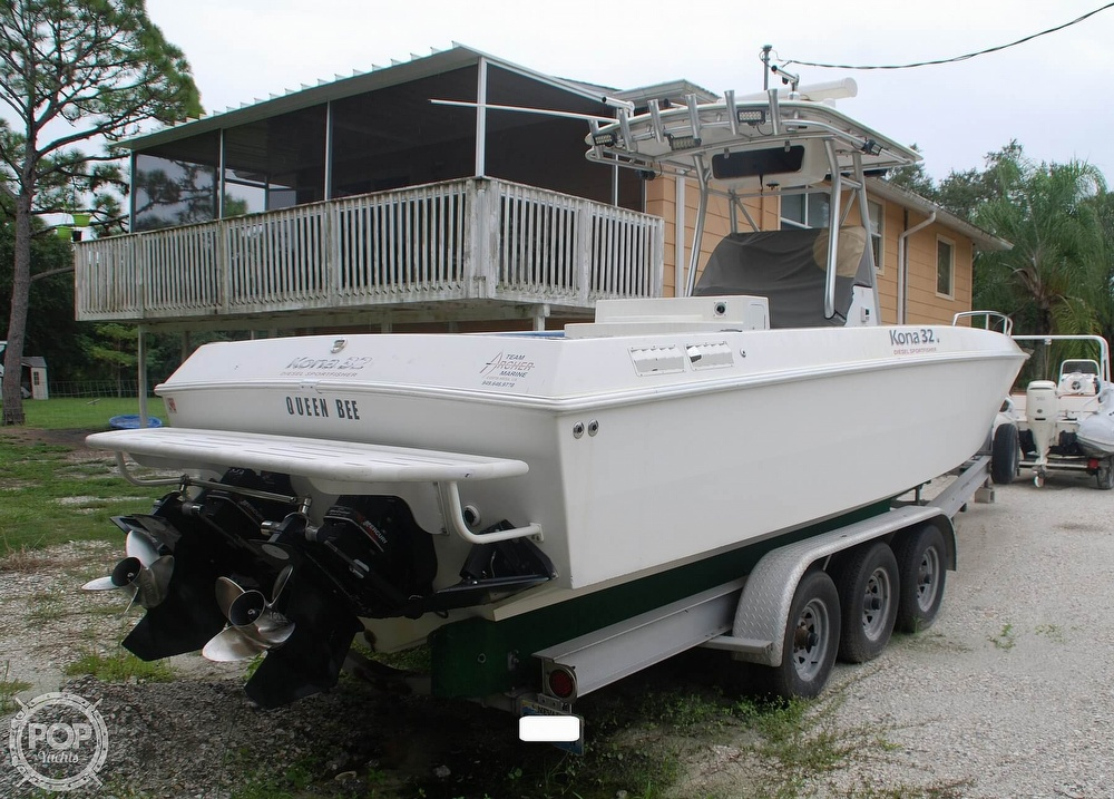 2004 Scarab boat for sale, model of the boat is 32 KONA DIESEL SPORT FISHER & Image # 27 of 40