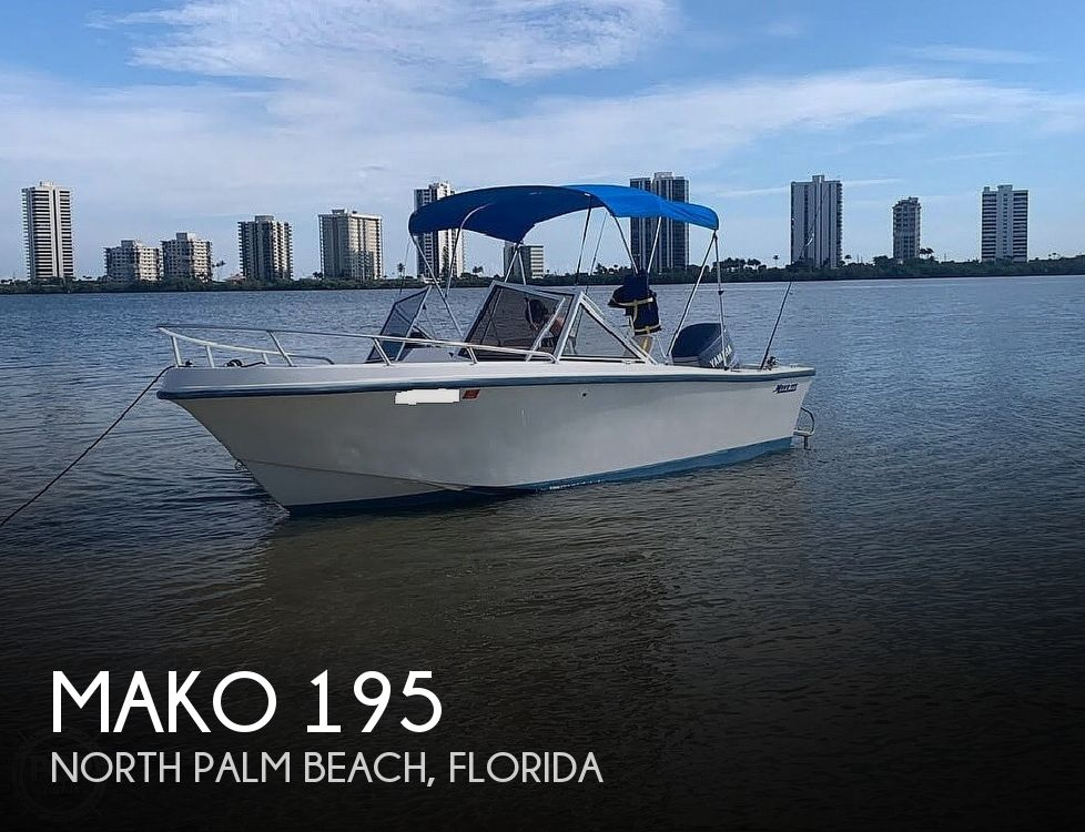 Used Power boats For Sale by owner | 1993 Mako 195