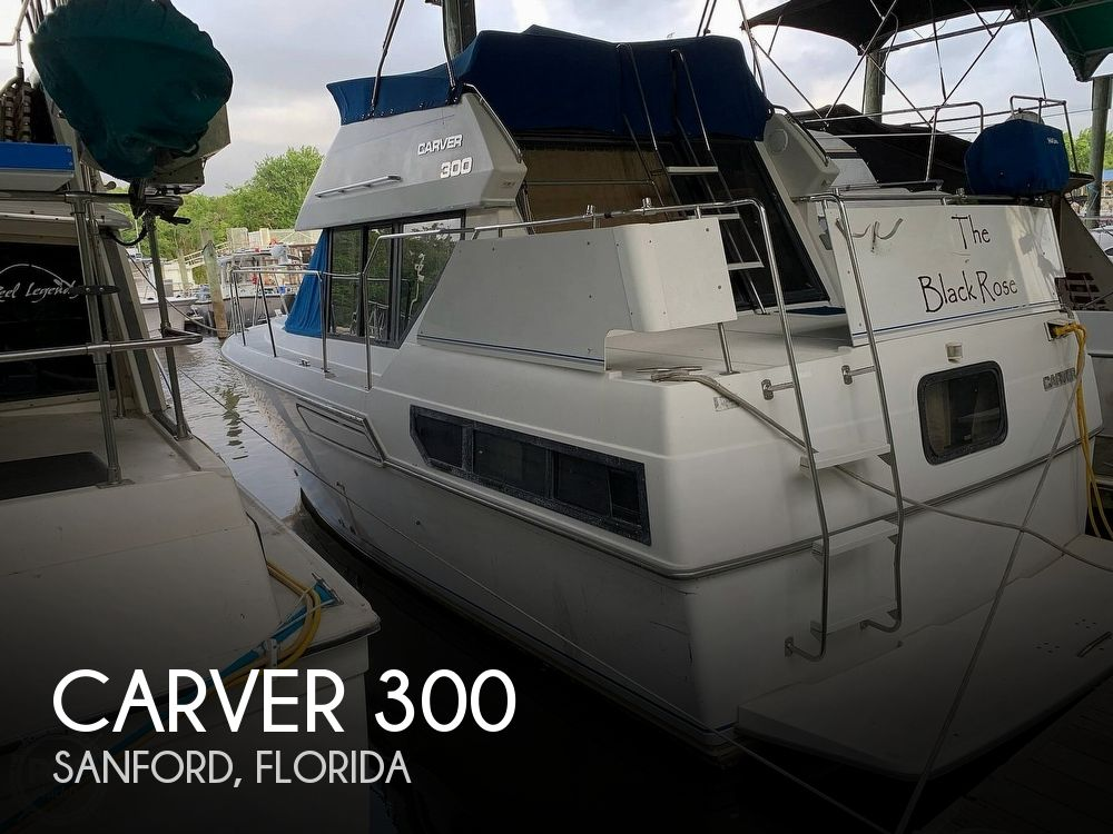 Used Carver Boats For Sale in Florida by owner | 1993 Carver 30