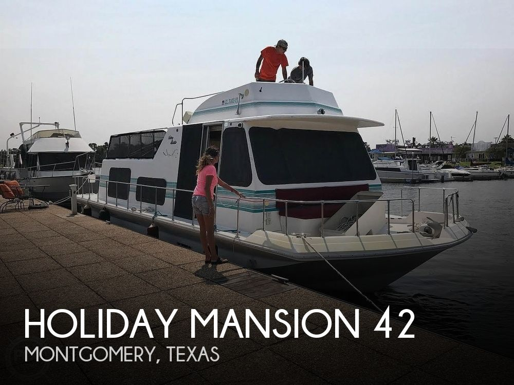 Used Holiday Mansion Houseboats For Sale by owner | 1996 Holiday Mansion 42